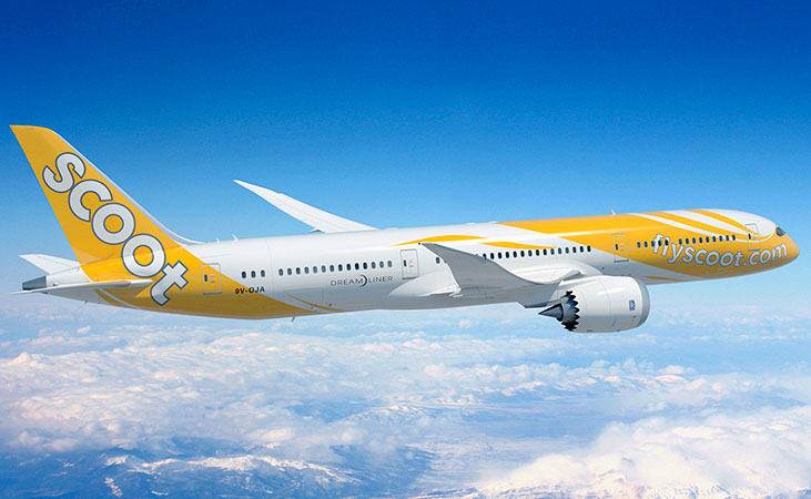 Travel In Style With Great Comfort with Scoot 787 Dreamliner