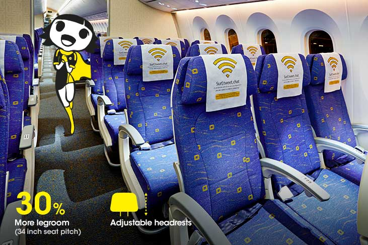 Travelling on Economy Class | Scoot